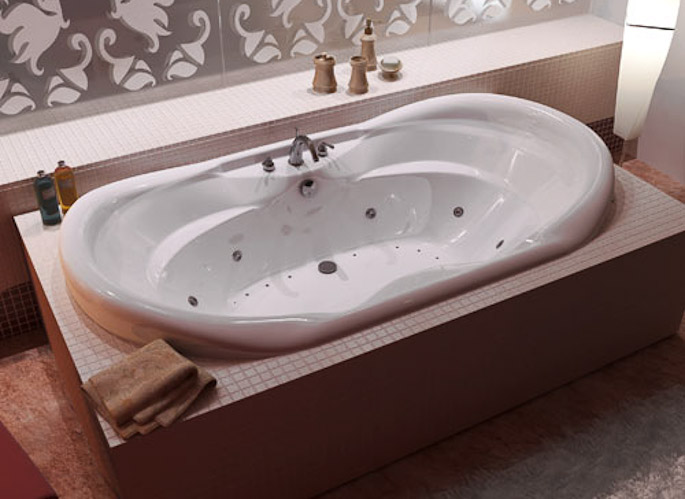 atlantis whirlpools - jetted bathtubs - indulgence series collection
